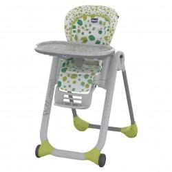 Chicco Jedálenská stolička Polly Progres5 Kiwi