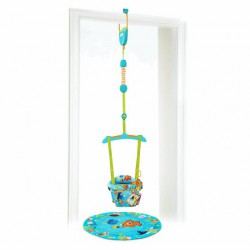 Disney baby Skákadlo do dverí Finding Nemo 2v1 6m+, do 12kg, 2017