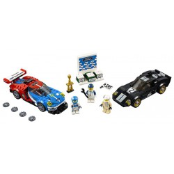 LEGO Speed Champions 75881 2016 Ford GT 1966 Ford GT40