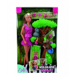 Simba Bábika Steffi so zvieratkami z džungle