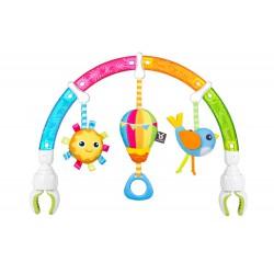 Hrazdička na autosedačku Dazzle Rainbow Play-Arch dúha