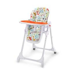 Petite&Mars stolička jedálenská Zola oranžová