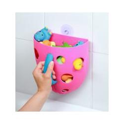 BabyOno Box na hračky do vane Ružová