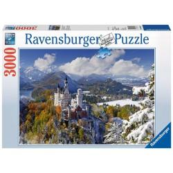 Ravensburger Puzzle Klasické Nemecko 3000 dielikov