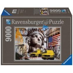Ravensburger Puzzle Metropola New York City 9000 dielikov