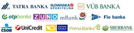 elektronické platby z bánk