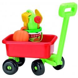Ecoiffier Retro vozík s krhličkou a prísl.