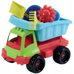 Ecoiffier Nákladné autíčko s formičkami 34 cm