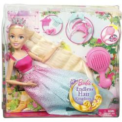 Mattel Barbie vysoká princezná s dlhými vlasmi blond