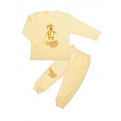 Antony Pyžamo Tiger - dobrú noc - žlté