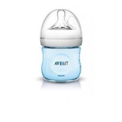 Avent fľaša 125ml Natural PP modrá