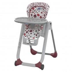 Chicco Jedálenská stolička Polly Progres5 Cherry