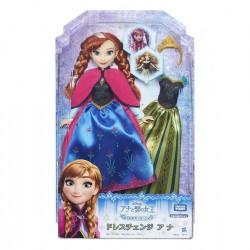Hasbro Disney's Frozen panenka s náhradními šaty Anna (SOLID)