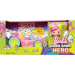 Mattel Barbie  VO SVETE HIER SET S AUTOM