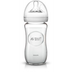 Philips AVENT Avent fľaša 240ml Natural SKLO