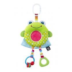 Benbat Hračka závesná Dazzle Friends žaba 0m+
