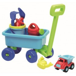 Ecoiffier  Vozík s kanvičkou se setom na piesok