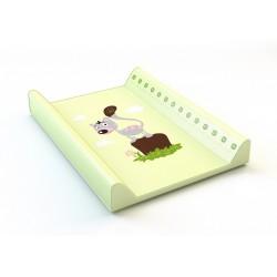 Montovací prebaľovací pult (zelený) - mačička