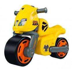 Big Big odrážadlo motocykel žltý