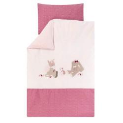 Nattou Obliečky na posteľ 100 x 140 cm a 40 x 60 cm NJL