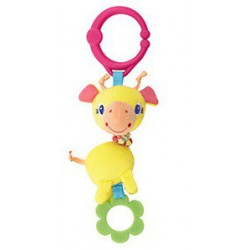 Bright Starts Hračka na C-krúžku Shimmy Shakers 0m+ žirafa