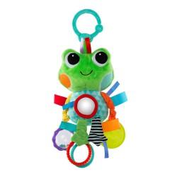Bright Starts Hračka na C krúžku Playful Pals žaba 0m+