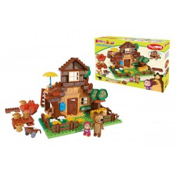 PlayBIG BLOXX Máša a medveď Míšov dom