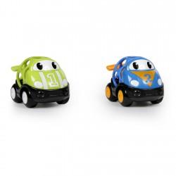 Hračka autíčka pretekárske Herbie a Tom Oball Go Grippers™ 2ks, 18m+