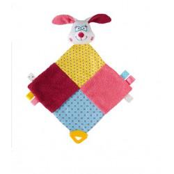 BabyOno Maznáčik s hryzačkou zajac SUE 40cm 0m+