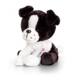 Pippins Plyšový psík čierno-biely 14cm