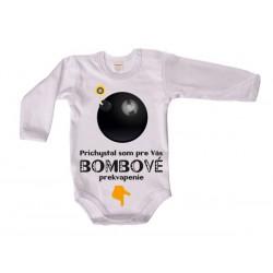 Antony Body dlhý rukáv (biele) - Bombové prekvapenie