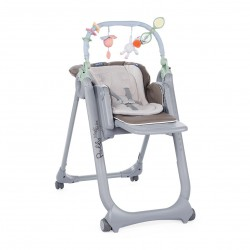 Chicco Stolička jedálenská Polly Magic Relax - Dove Grey
