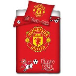Posteľné obliečky Manchester United 135x100