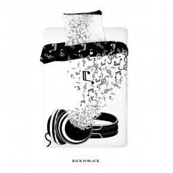 Posteľné obliečky Music 140x200cm