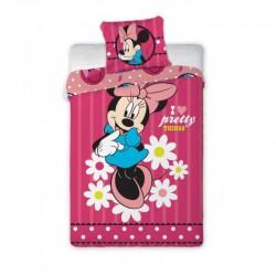 Posteľné obliečky Minnie Mouse 140x200cm