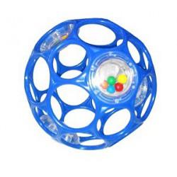 Hračka OBALL RATTLE 10 cm, 0m+ modrá
