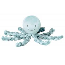 Nattou Prvá hračka bábätka chobotnička PIU PIU Lapidou anthracite 0m+