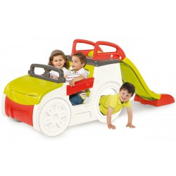 SMOBY Auto pieskovisko so šmykľavkou 150