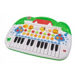 detsky klavir so zvieratkami Simba