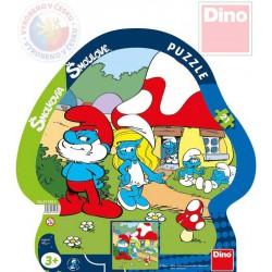 smolkovia puzzle Dino volný deň