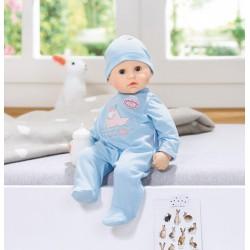 Zapf Braček bábika modrá