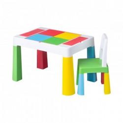 TEGA Sada nábytku pre deti Multifun stolík a stolička
