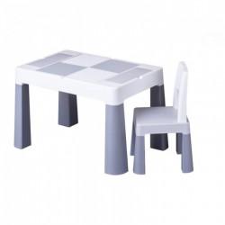 plastový detský stolík stolička TEGA