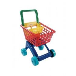 Detský nákupný košík - červený