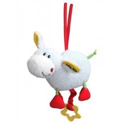 Detská plyšová hračka s hracím strojčekom Baby Mix ovečka