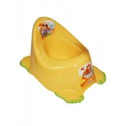 Detský nočník protišmykový Safari žltý