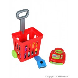 Detský nákupný košík s príslušenstvom Bayo 27 ks