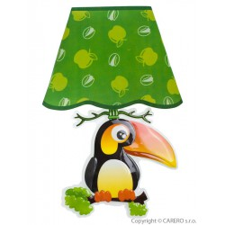 Svietiaca samolepiaca LED lampička Bayo tukan