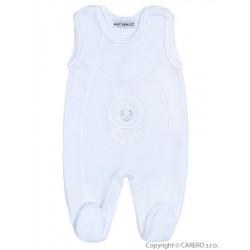 Dojčenské semišové dupačky Baby Service biele