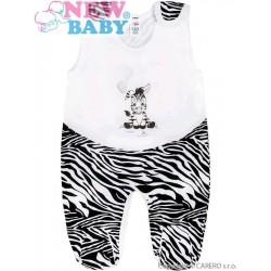 Dojčenské dupačky New Baby Zebra s balónikom